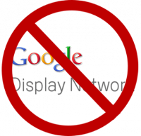 No Google Display Network Site Traffic Control